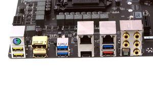 Das I/O-Panel beim Gigabyte GA-Z170X-Gaming 7