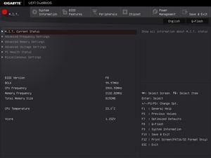 Die UEFI-Oberfläche beim Gigabyte GA-Z170X-Gaming 7.