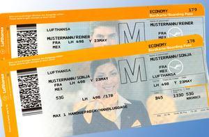 Lufthansa BordkarteFoto: Lufthansa