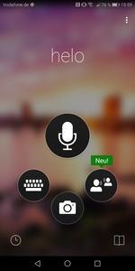 Der vorinstallierte Bing Translator soll von der NPU profitieren, im Test war davon nichts zu spüren