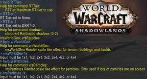 World of Warcraft: Shadowlands mit Raytracing-Effekten