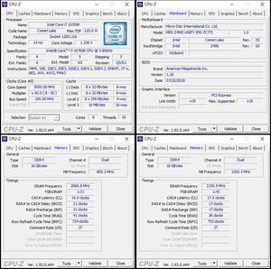 CPU- und RAM-Overclocking mit dem MSI MEG Z490I UNIFY