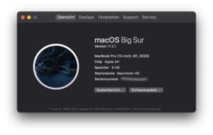 Apple MacBook Pro mit M1