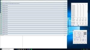 Intel Core i9-9900K mit 4,8 GHz auf allen Kernen sowie genutztem FMA3-Befehlssatz