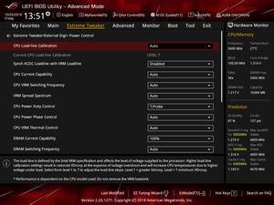 Das ASUS ROG Maximus XI Hero (Wi-Fi) bietet acht verschiedene LLC-Level, mit denen Vdrop und Vdroop beeinflusst werden können