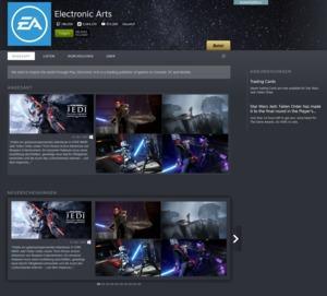 EA zurück auf Steam