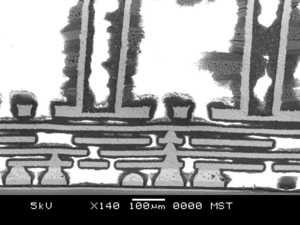 Intel Core i7-8700K unter dem Rasterelektronenmikroskop