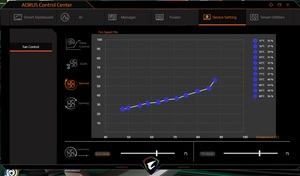 Die Software des Gigabyte AORUS 15P KD