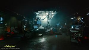 Cyberpunk 2077 mit RTX-Effekten