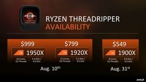 AMD Threadripper Tech Day Pressdeck