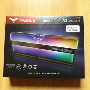 Teamgroup T-Force Xtreem ARGB DDR4-3600C14