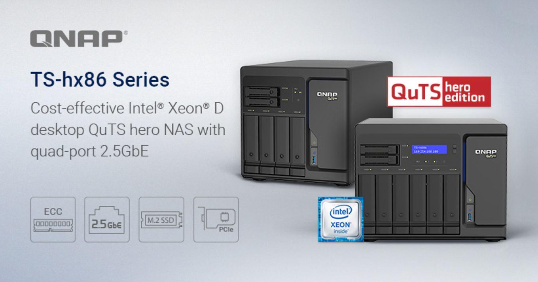 QNAP TS h686 und TS h886: Profi NAS Lösungen mit QuTS hero