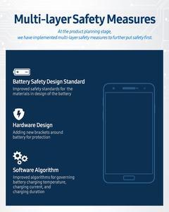 Auch Änderungen an der Software sollen helfen, damit sich Akkuprobleme wie beim Galaxy Note 7 nicht wiederholen