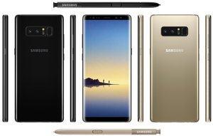 Stimmt die Abbildung, wird das Samsung Galaxy Note 8 dem Galaxy S8 sehr ähnlich sein