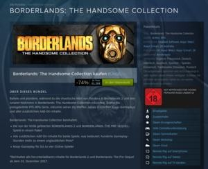 Borderlands: The Handsome Collection bei Steam