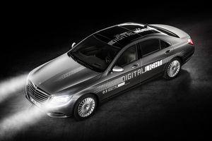 Schon in zwei Jahren soll Digital Light angeboten werden (©: Mercedes-Benz)