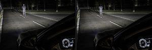 Entgegenkommende Verkehrsteilnehmer sollen dank bis zu 5.000 Kippbewegungen der Mikrospiegel pro Sekunde nicht geblendet werden (©: Mercedes-Benz)