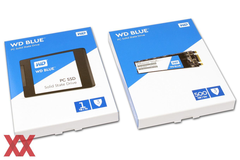 Western Digital Blue Ssd Im 2 5 Zoll Und M 2 Format Im Test Hardwareluxx