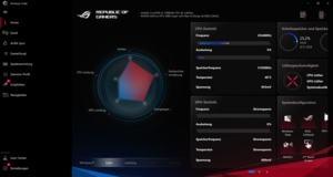 Die Software des ASUS ROG Zephyrus Duo 15 GX550L