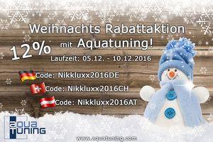 Rabattaktion mit Aquatuning Weihnachten 2016