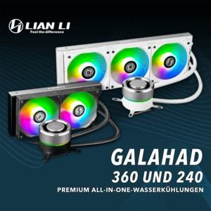 Lian Li Galahad 240 und Galahad 360