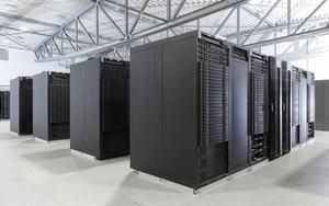 Der JUWELS Supercomputer in Jülich