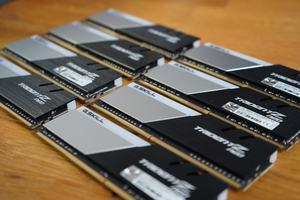 64 GB (8x 8 GB) G.Skill TridentZ Neo RGB DDR4-3600