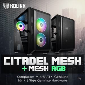 Kolink Citadel Mesh und Citadel Mesh RGB