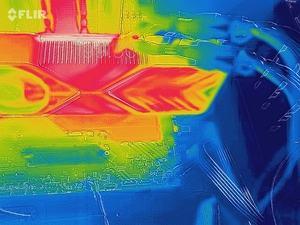 VRM-Temperatur der GeForce RTX 3080 Founders Edition