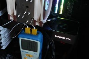 GDDR6X-Temperatur der GeForce RTX 3080 Founders Edition