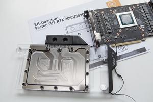 EKWB EK-Quantum Vector TUF RTX 3080/3090 D-RGB - Nickel + Plexi