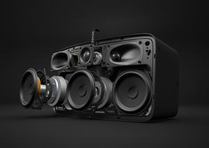 Der Sonos Play:5 verfügt über die notwendigen Mikrofone für Alexa und Co.
