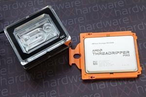 AMD Ryzen Threadripper Pro 3995WX und Alphacool Eisblock XPX Aurora PRO