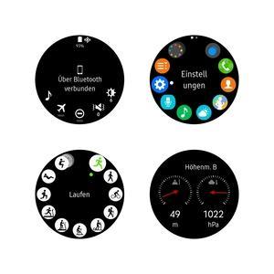 Die Bedienung der Gear S3 kennt man vom Vorgänger, neu sind das aufgebohrte S Health sowie die Integration des Barometers
