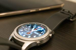 Kleine Details sorgen für ein hochwertiges Erscheinungsbild der Gear S3
