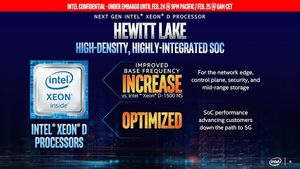 Intel Xeon-D Hewitt Lake