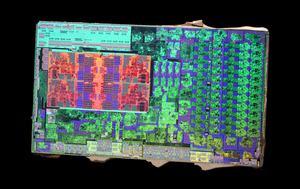 Die-Shots eines AMD Ryzen 3 2200G Raven Ridge