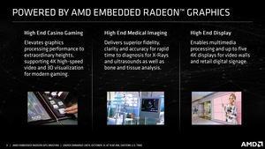AMD Embedded Radeon E9560 und Embedded Radeon E9390