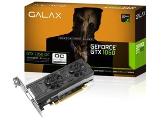 Galax GeForce GTX 1050 OC LP