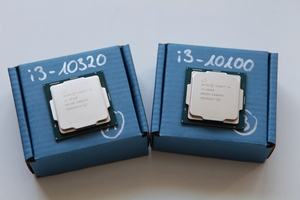 Intel Core i3-10100 und Core i3-10320