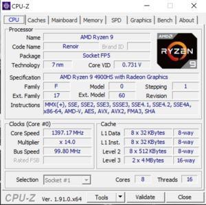 Die Software des ASUS ROG Zephyrus G14
