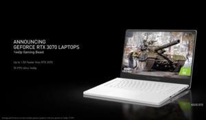NVIDIA CES 2021: GeForce RTX 30 Mobile