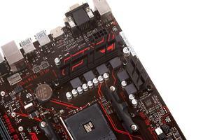 Sechs Spulen befeuern den AM4-Prozessor.