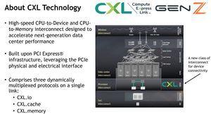 MOU zwischen CXL und Gen-Z
