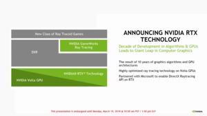 NVIDIA RTX und Microsft DXR