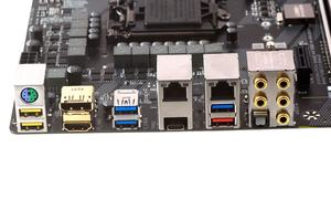 Das I/O-Panel beim Gigabyte GA-Z270X-Gaming 7.