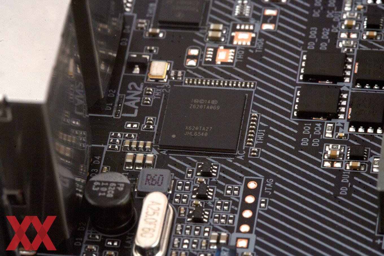 Der Intel JHL6540 ist sowohl für USB 3.1 Gen2 als auch für Thunderbolt 3.0 verantwortlich.