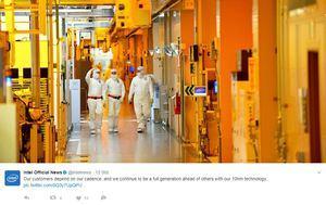 Im Juni sprach Intel vom pünktlichen Start des 10-nm-Verfahrens