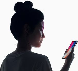 Apple iPhone X mit Face ID