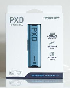 Patriot PXD M.2 PCIe Type-C External SSD